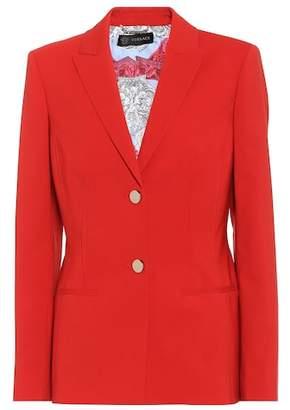 Versace Stretch wool blazer