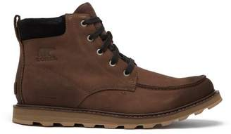 Sorel Madson Leather Lace Up Boots - Mens - Brown