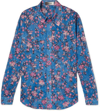 Isabel Marant Nicson Slim-Fit Printed Cotton Shirt