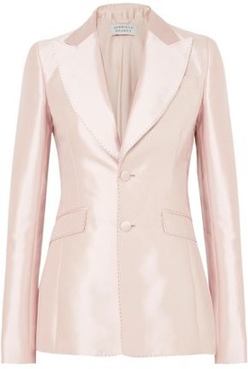 Gabriela Hearst Serge Silk And Wool-Blend Blazer