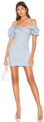 superdown Gabriella Puff Sleeve Dress
