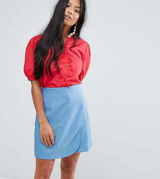 Sister Jane Petite Blouse With Broderie Trim