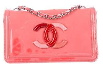 Chanel Patent Lipstick Flap Bag