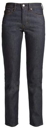 Acne Studios Bla Konst South Mid Rise Straight Leg Jeans - Womens - Indigo