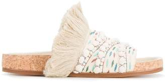 Chloé Woven Nolan flat sandals