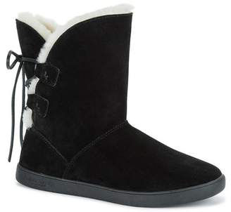 Koolaburra BY UGG Shazi Genuine Shearling & Faux Fur Lined Short Boot