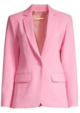 Trina Turk Women's The Tourist Classic One-Button Blazer - Blossom - Size 2