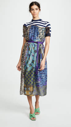 Kolor Combo Maxi Dress