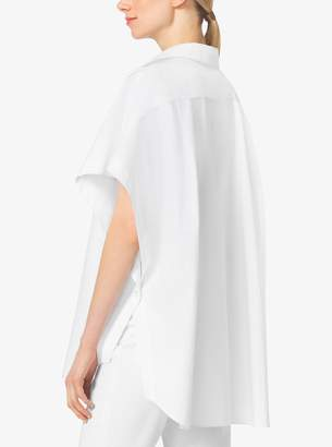 Michael Kors Cotton-Poplin Tunic