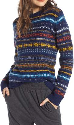 Treasure & Bond Fair Isle Sweater