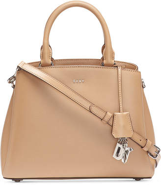 DKNY Paige Leather Medium Satchel