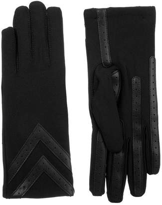 Isotoner Cold Weather 3 Button Spandex Glove with SmartDRI