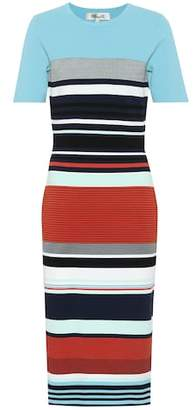 Diane von Furstenberg Striped knit dress