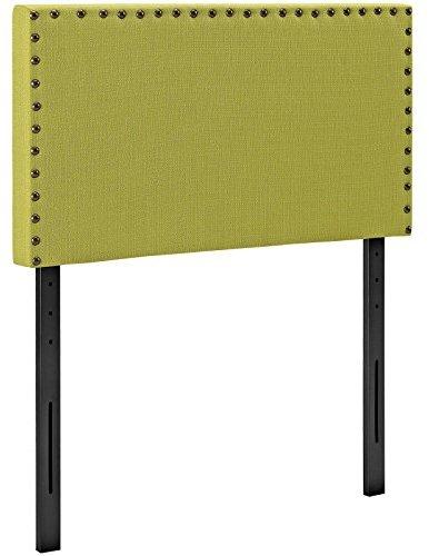 Modway Phoebe Twin Upholstered Fabric Headboard In Wheatgrass