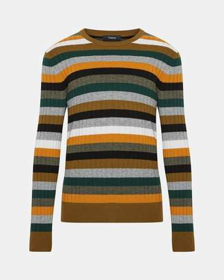 Theory Multi-Color Stripe Sweater