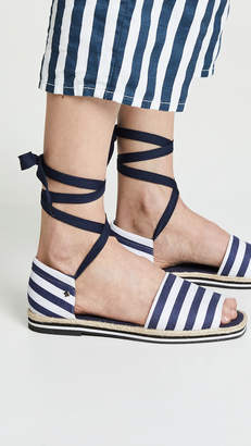 Kate Spade Chandra Lace Up Espadrilles