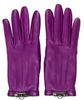 Hermes Collier de Chien Lambskin Gloves