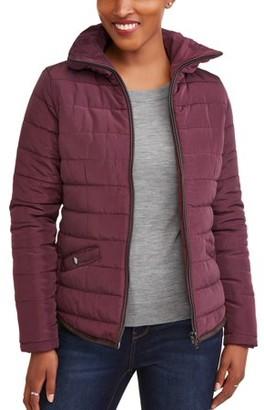 JASON MAXWELL Women's Fitted Puffer Coat