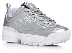 Fila Women's Disruptor II Premium Low-Top Dad Sneakers