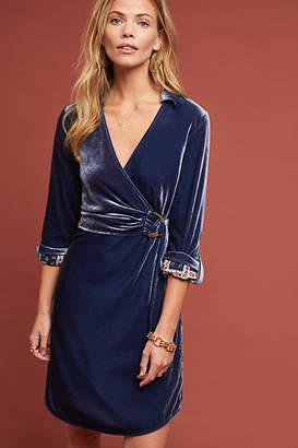Maeve Velvet Shirtdress