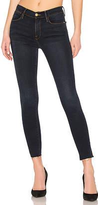 Frame Le High Skinny Slit Jean.