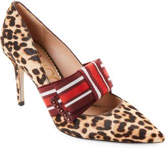 a7dd8dab0e54 Sam Edelman Leopard Print Heels - ShopStyle