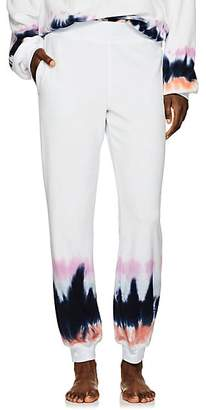 Electric & Rose Women's Tie-Dyed Terry Jogger Pants - Pink