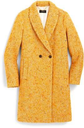 J.Crew Daphne Tweed Topcoat
