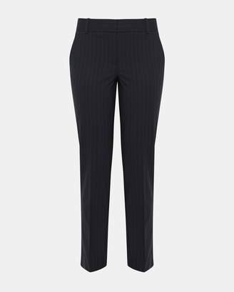 Theory Good Wool Pinstripe Straight Trouser