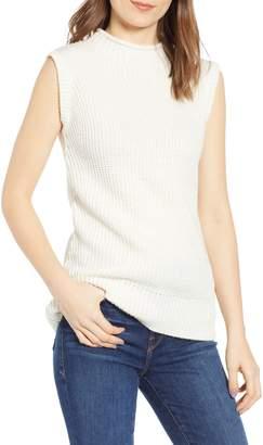 e2e1d1c3a35145 CODEXMODE Funnel Neck Sleeveless Sweater