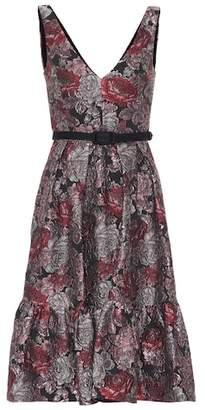 Erdem Gaby floral jacquard dress