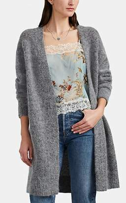 Acne Studios Women's Raya Open-Front Cardigan - Gray