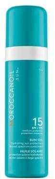Moroccanoil Women's Sun Oil SPF 15 Hydrating Sun Protection Broad Spectrum Sunscreen