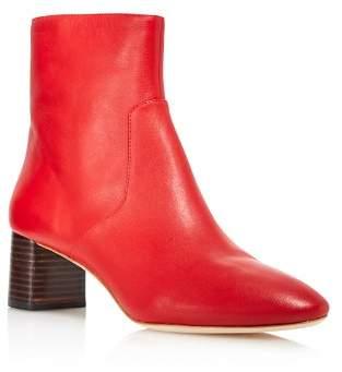 Loeffler Randall Women's Gema Pointed Toe Leather Booties