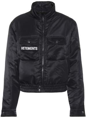 Vetements Reversible utility jacket