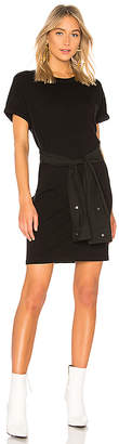 Alexander Wang Shirt Tie Mini Dress