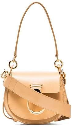 Chloé nude tess leather shoulder bag