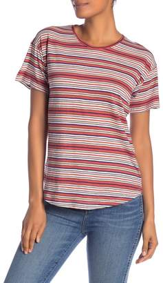 Madewell Bonnie Whisper Striped Crew Neck Tee