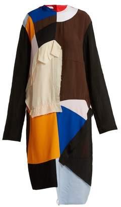 Marni Colour Block Patchwork Dress - Womens - Multi