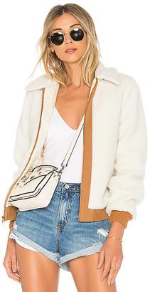 Lovers + Friends Simone Faux Fur Jacket