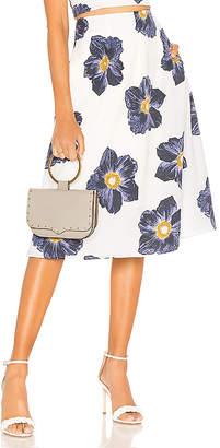J.o.a. High Waisted Midi Skirt