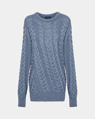 Theory Twisting Cable Pullover