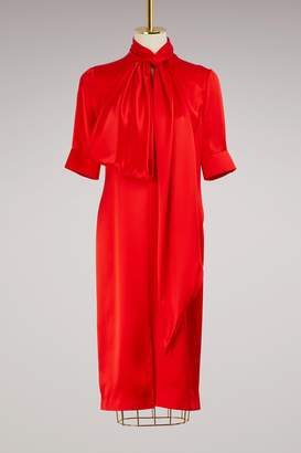 Givenchy Lavalliere collar dress
