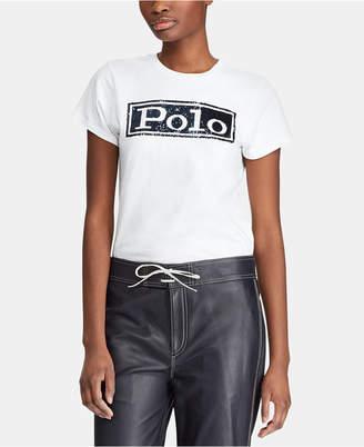 Polo Ralph Lauren Logo Graphic Cotton T-Shirt