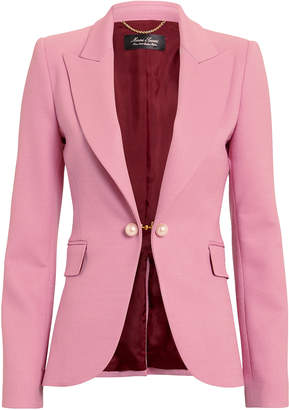 ADAM by Adam Lippes Double Face Pink Blazer
