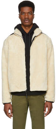 Rag & Bone Off-White Sherpa Jacket