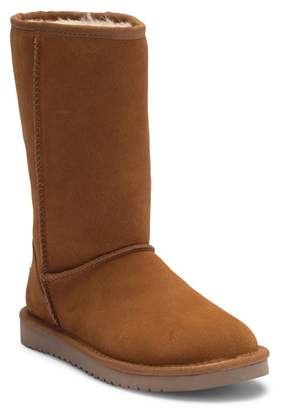 Koolaburra BY UGG Classic Genuine Shearling & Faux Fur Lined Tall Boot