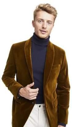 Todd Snyder Made in USA Unconstructed Velvet Sport Coat in Autumn Mustard