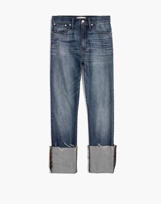 Madewell Rigid Straight Crop Jeans: Tall Cuff Edition