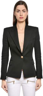 Balmain Cool Wool Blazer